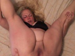 Big BBW Granny Gets Her Assfucked