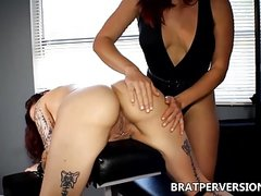 Spanking my Girlfriend