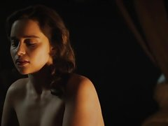 Emilia Clarke Nude in 'The Voice from the Stone'