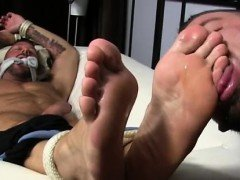 White slave black master feet gay Dolf's Foot Sex Captive