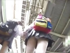 voyeur Japanese teen girls upskirt 3