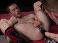First time anal fist gay and twink deep fisting xxx Seamus O