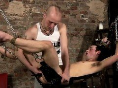 Gay bondage schoolboys movie Hanging there strapped to the s