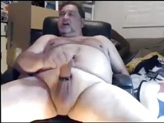 Wanking and Cum Shot