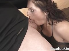 Fallon West face fucked, gets some anal and roughed up hard