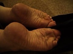 Mature Heel Popping Cummy heels