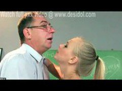 Ah Me young with old man