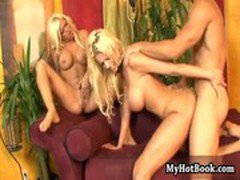 Crista Moore and Tanya James are a couple blonde b