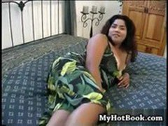 Nikki Santana is a BBW Latina  with huge hooters a
