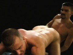 Old men fucking and sucking boobs gay porn video Club Infern