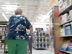 Old ass granny bending it over