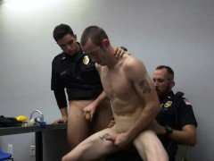 Police muscle gay movie xxx Two daddies are better than one