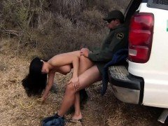 Police gangbang drugs and fucked by baton Stunning Mexican f