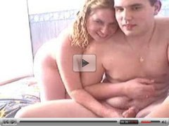 Brother's friend and girlfriend bang on webcam