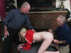 Precious Stacie gets banged by a huge dick