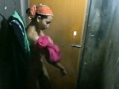 Indian Girl changing Clothes hidden cam catches