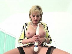 Cheating british milf lady sonia shows off her huge tits