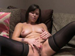 Fake Agent UK Randy brunette takes a big facial