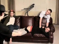 Free young boys with small dick gay An Orgy Of Boy Spanking!