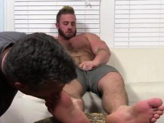 Gay emo foot play first time Aaron Bruiser Lets Me Worship H