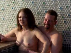 Amazing swingers fuck party in the jacuzzy