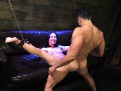Whipping punishment and white bondage squirt xxx Helpless