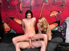 Two Girls Sucking Dick And Riding During Money Talks Stunt