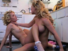 LEROYZ - Lipstick Lesbians having Sex in the Kitchen
