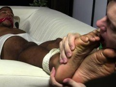 Gay porno feet emo boy xxx Mikey Tied Up & Worshiped