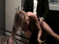 Smoking Fetish Blonde Blowjob 01