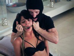 Blonde machine bondage first time Gina Valentina is one