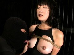 Milking a hot asian chick in hardcore BDSM