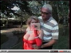 Busty Mature blonde fucked as a Whore in Park.F70