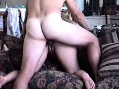 Thick ass wife gets creamed on the sofa