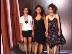 sexy indian girls threesome with hindi audio