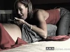 Loving wife gives her hubby release