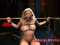 Hentai maid bondage Big-breasted light-haired sweetie