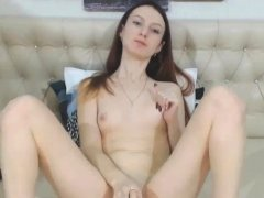 Ginger Teenager Has Huge G Spot Vibrator