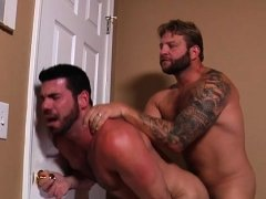 Amazing blowjob by homosexual lad on straight's giant weenie