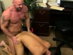 Free gay no condom sex movietures After face plowing and