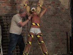 Young boys in bondage by old and gale male gay He's