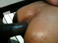 Skinny Thai girl first anal with BBC 3 of 20