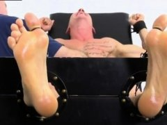 Foot xxx movie gay Cristian Tickled In The Tickle Chair