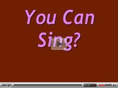 You Can Sing?  N15