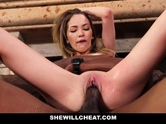 SheWillCheat - Cheating Wife Squirt from Black Cock