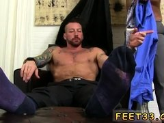 Gay hardcore male anal sex Hugh Hunter Worshiped Until He