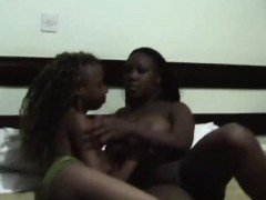 Yvonne Simone caught in the act in African lesbians as she