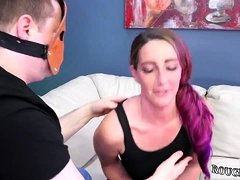 Breast pump bdsm Ass-Slave Yoga