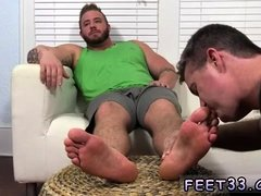 Emo feet sucking gay Aaron Bruiser Lets Me Worship His