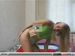 Solo teen blonde